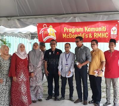 Pembinaan Rumah Ronald McDonalds di HUSM