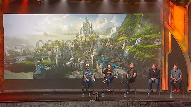 Duncan Jones en la Blizzard Con presentando Warcraft