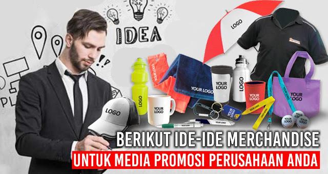 Berikut Ide-Ide Merchandise Untuk Media Promosi Perusahaan Anda