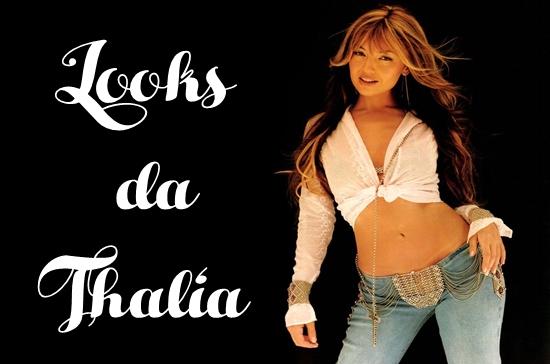 a mudança no visual de Thalía