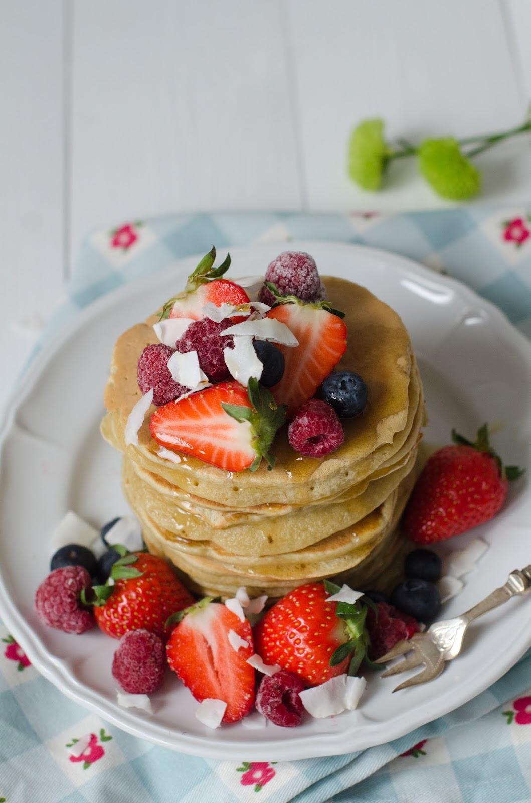 Pancakes à la banane express et sans lait