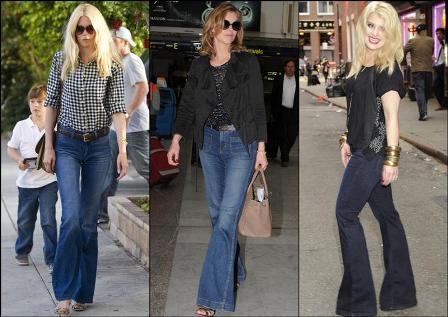 No More Jeans Trend Report Jeans Bota Ancha A La Vista