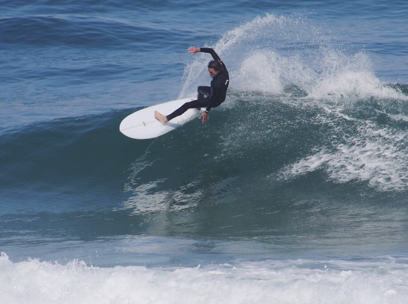 Curren Caples enjoying surf in Hossegor, France.
