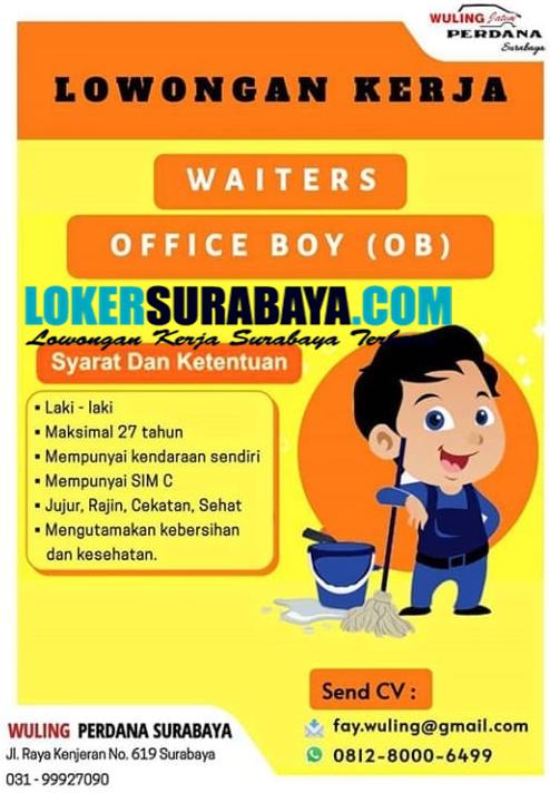 Info Loker Surabaya Di Wuling Perdana November 2020 Lowongan Kerja Surabaya April 2021 Lowongan Kerja Jawa Timur Terbaru