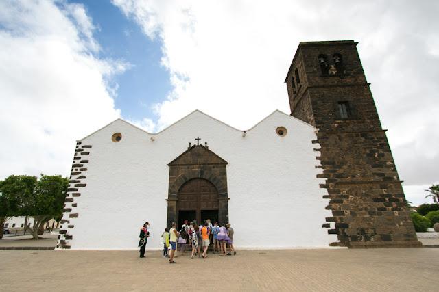 Ermita Nuestra senora de la Candelara-La Oliva-Fuerteventura