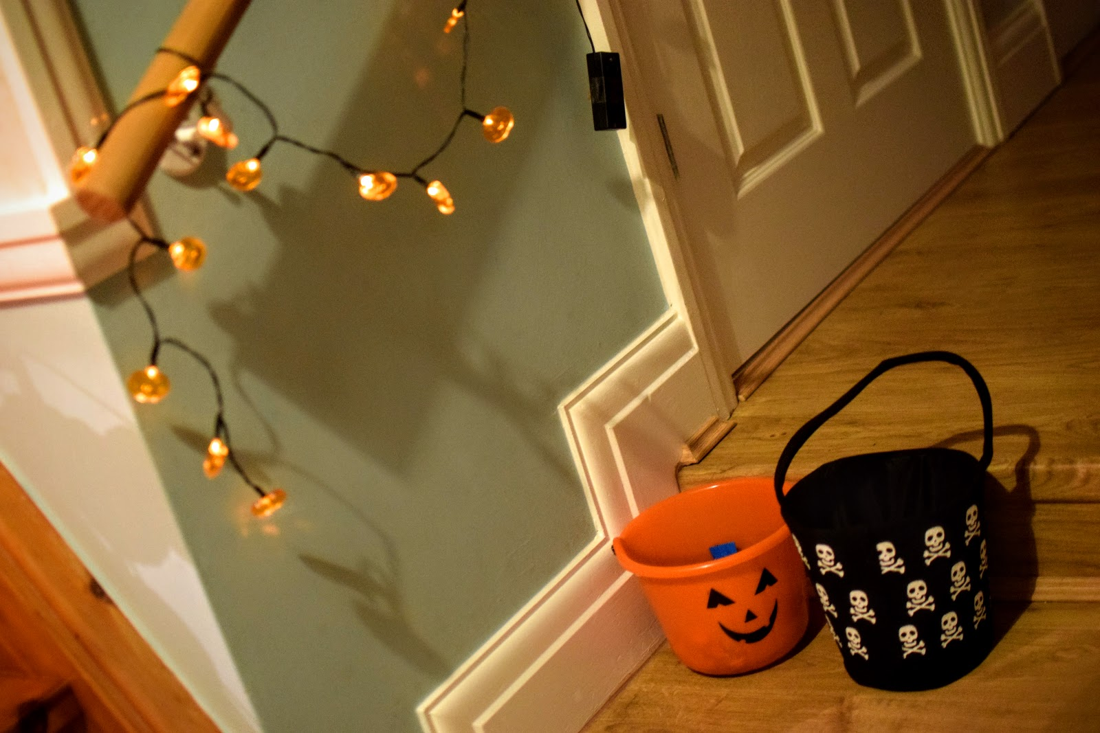 , A Family Halloween Party and a Quick Vegan Biscuit Recipe
