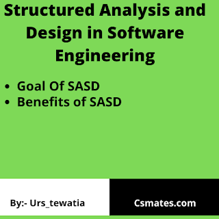 system and analysis design in software engineering (SAD or SASD)