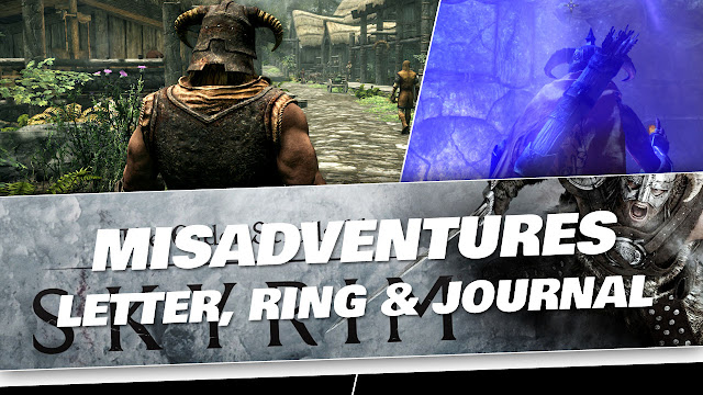 SKYRIM 2020 Gameplay! Misadventures in Falkreath! Leatter, Ring and Journal!