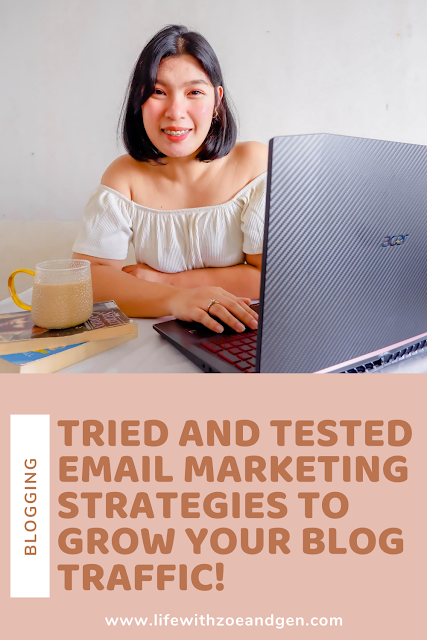 Do you want to grow your blog's traffic? Try this tried and tested email marketing strategies by Ladybossblogger and skyrocket your traffic!