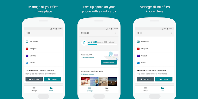 Google Siapkan Aplikasi Files Go