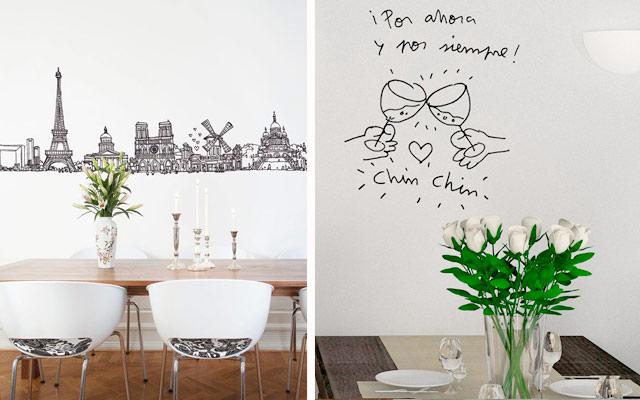 Marzua dise o gr fico en decoraci n - Disenos para pintar paredes ...