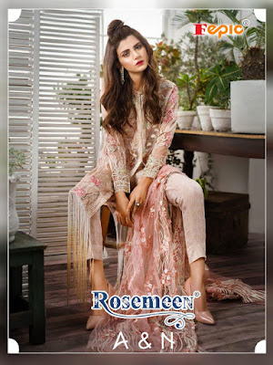 Fepic Rosemeen A and N Pakistani Suits Catalogue Wholesaler