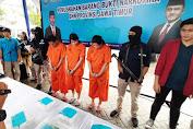 BNNP Jatim Musnahkan 8,150 Gram Narkotika Asal Malaysia