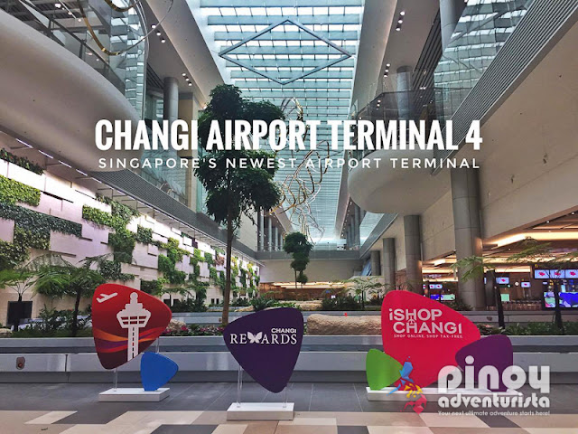 Changi Airport Terminal 4 Photos