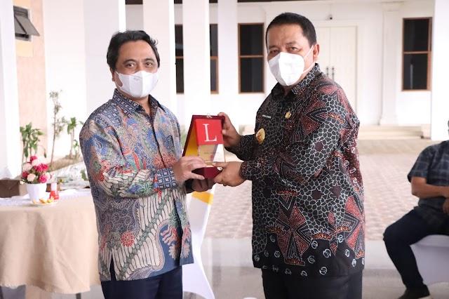 Gubernur Lampung Jalin Silaturahmi Dengan Jajaran Pimpinan Media Grup News