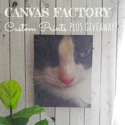 Canvas Factory Custom Prints Plus Giveaway!