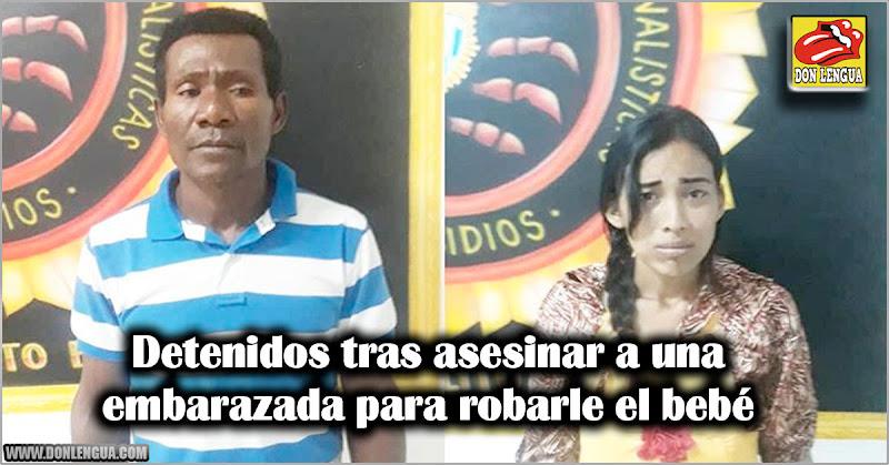 Detenidos tras asesinar a una embarazada para robarle el bebé