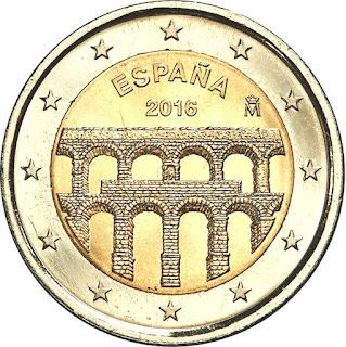 2€ commémorative Espagne 2016