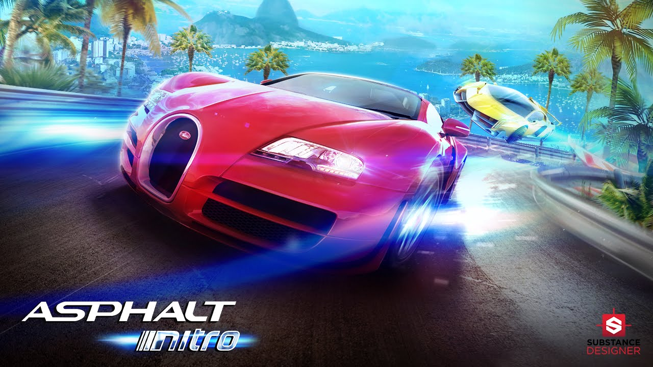 Asphalt Nitro Android Game By Gameloft Traffic Racing Engineer