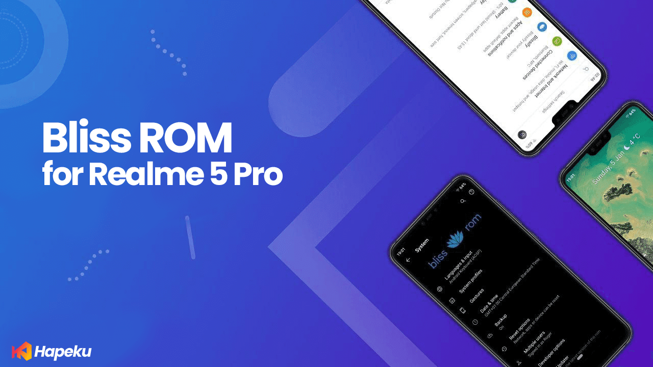 ROM Bliss for Realme 5 Pro ( RMX1971 )