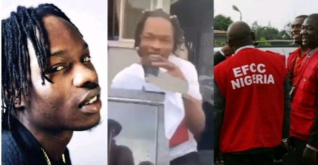 Naira Marley triggers outrage, curses EFCC on stage in Dubai