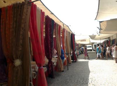 cortinas na Feira de Espinho