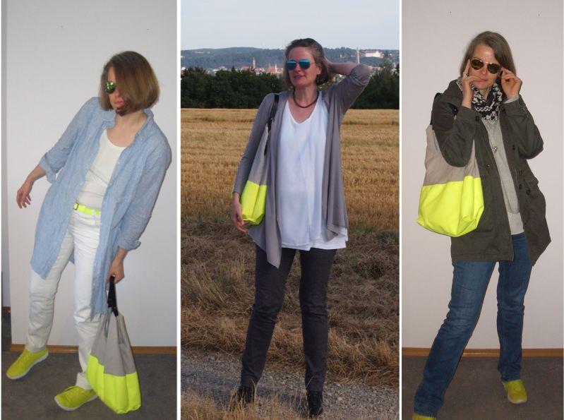 Taschentrends 2021: Oversized Shopper und Market-Bags