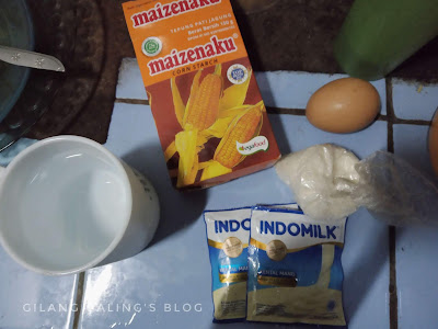 kental manis putih custard pudding