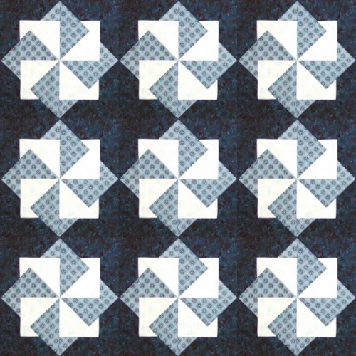Wings of Eagles Quilt Block - Free Pattern
