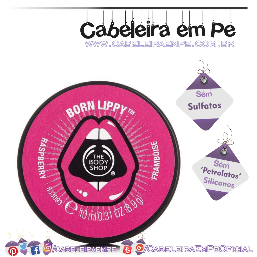 Lip Balm de Framboesa - The Body Shop