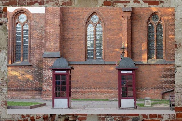 Kaunas Lithuania for the Weekend - Telephone Booths
