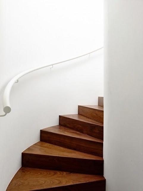 spiral staircase concrete design