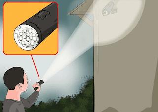 cara hack kamera cctv led laser langkah 1