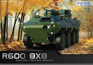 Panus R600 8x8 Thailand