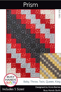 Prism Quilt Pattern by Myra Barnes of Busy Hands Quilts