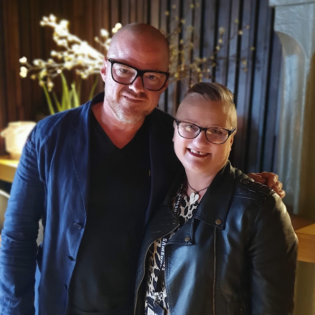 madmumof7 with Heston Blumenthal shot using Samsung Galaxy S10 #withgalaxy