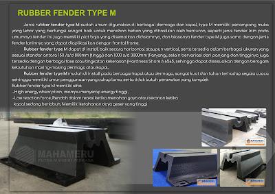 RUBBER FENDER TYPE M 800 H