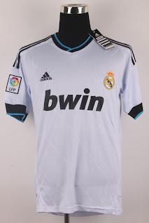 Real Madrid home jersey 2012-2013