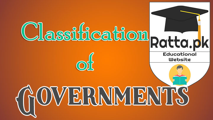 Classification of Governments