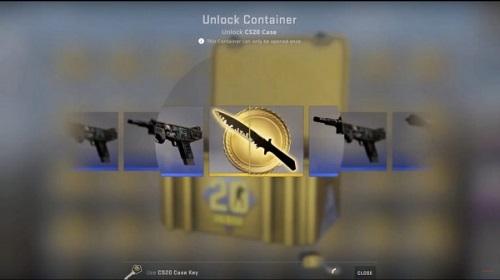 Con dao găm huyền thoại của Counter Strike đc mang vào phiên bản nâng cao, nhưng người chơi sẽ buộc phải đưa tiền vàng để tải nó