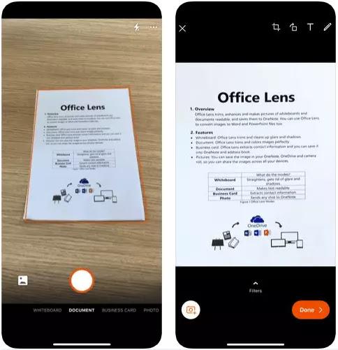 Office Lens و CamScanner: ما هو أفضل ماسح ضوئي للوثائق؟