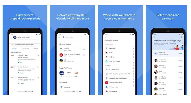 Google Pay UPI Payment App Download for New Vesrions