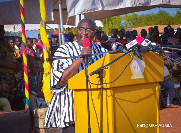 """""""What Legacy Did John Mahama Leave For The North As President?"""" Dr. Bawumia Asks"""
