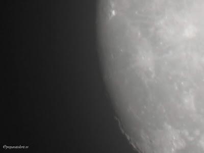 Luna Zoom cu Nikon P900,