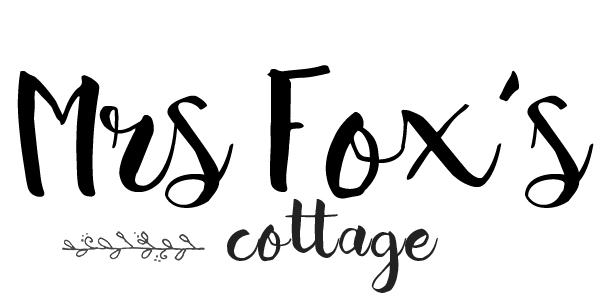 Mrs Fox's sustainable life, home, crafts and food