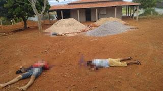 URGENTE: Três homens são mortos com tiros na cabeça em cidade do Piauí