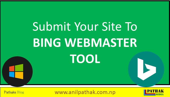 submit your site to bing webmaster tool