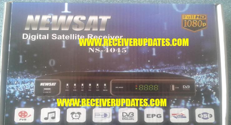 NEWSAT NS-4045 HD RECEIVER NEW SOFTWARE TEN SPORTS OK - Receiver Updates