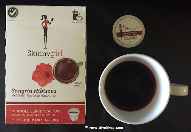 Skinnygirl Sangria Hibiscus Herbal Tea