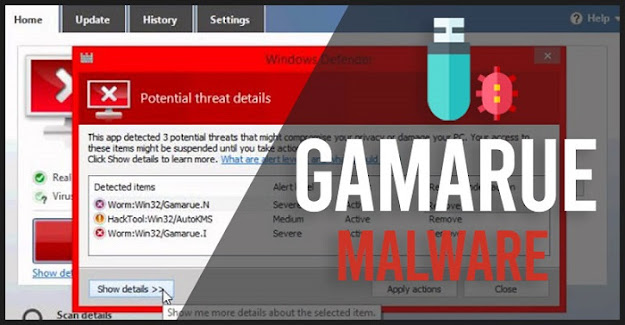 Gamarue Malware: How it Works and How to Remove it?